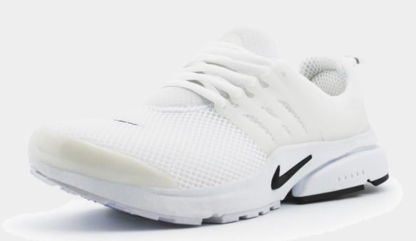 Nike Air Presto BR QS Белые с черным