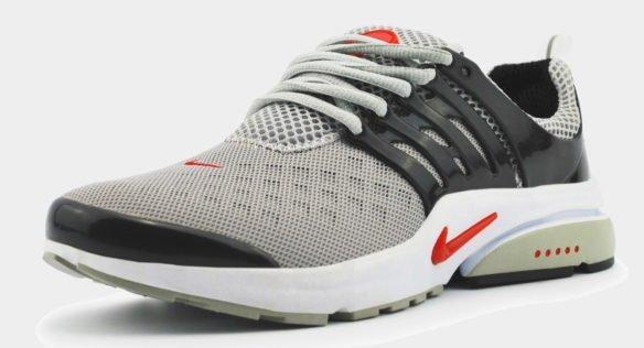 Nike Air Presto Essential серо-черные