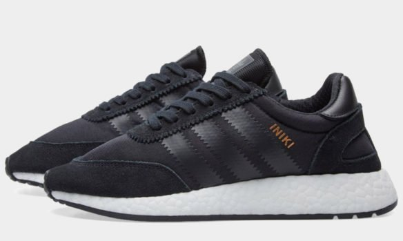 Фото Adidas Iniki Runner Boost черные - 1