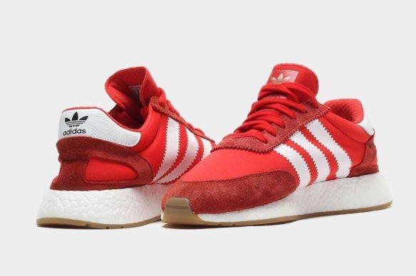 Фото Adidas Iniki Runner Boost красные - 2