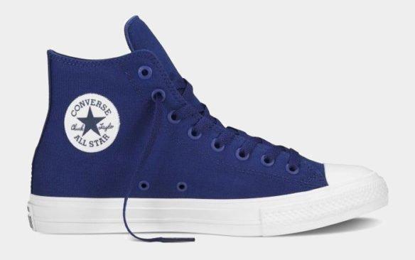 Фото Converse Chuck Taylor All Star II High синие - 2
