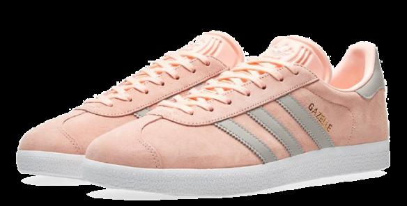 Фото Adidas Gazelle Розовые с Серым - 2